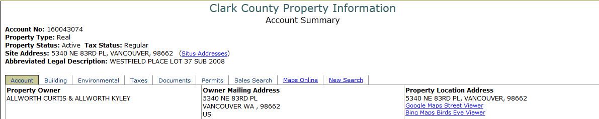 Property Tax - Clark County, Nevada