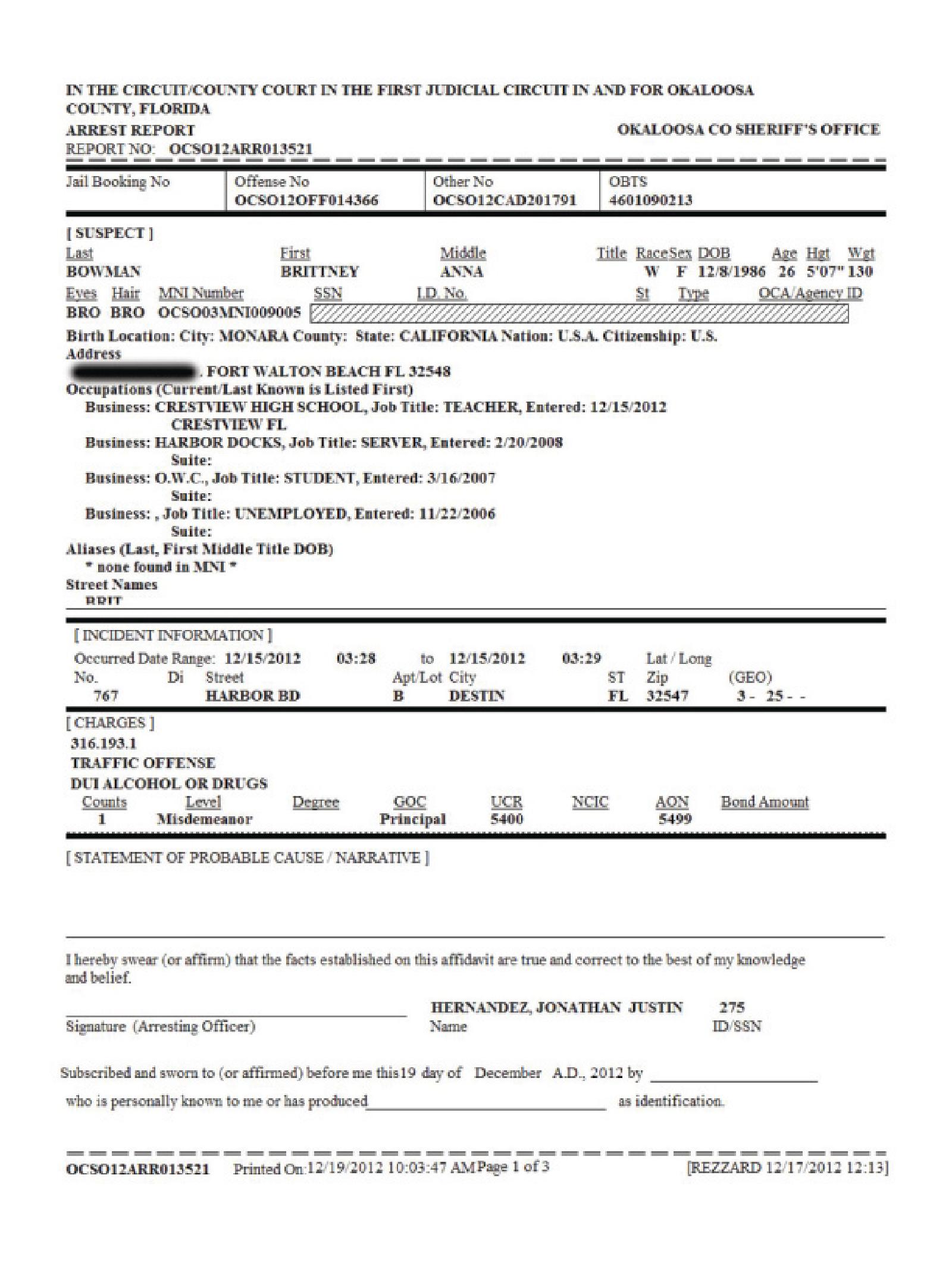 Copy of bowman brittne arrest report1.png
