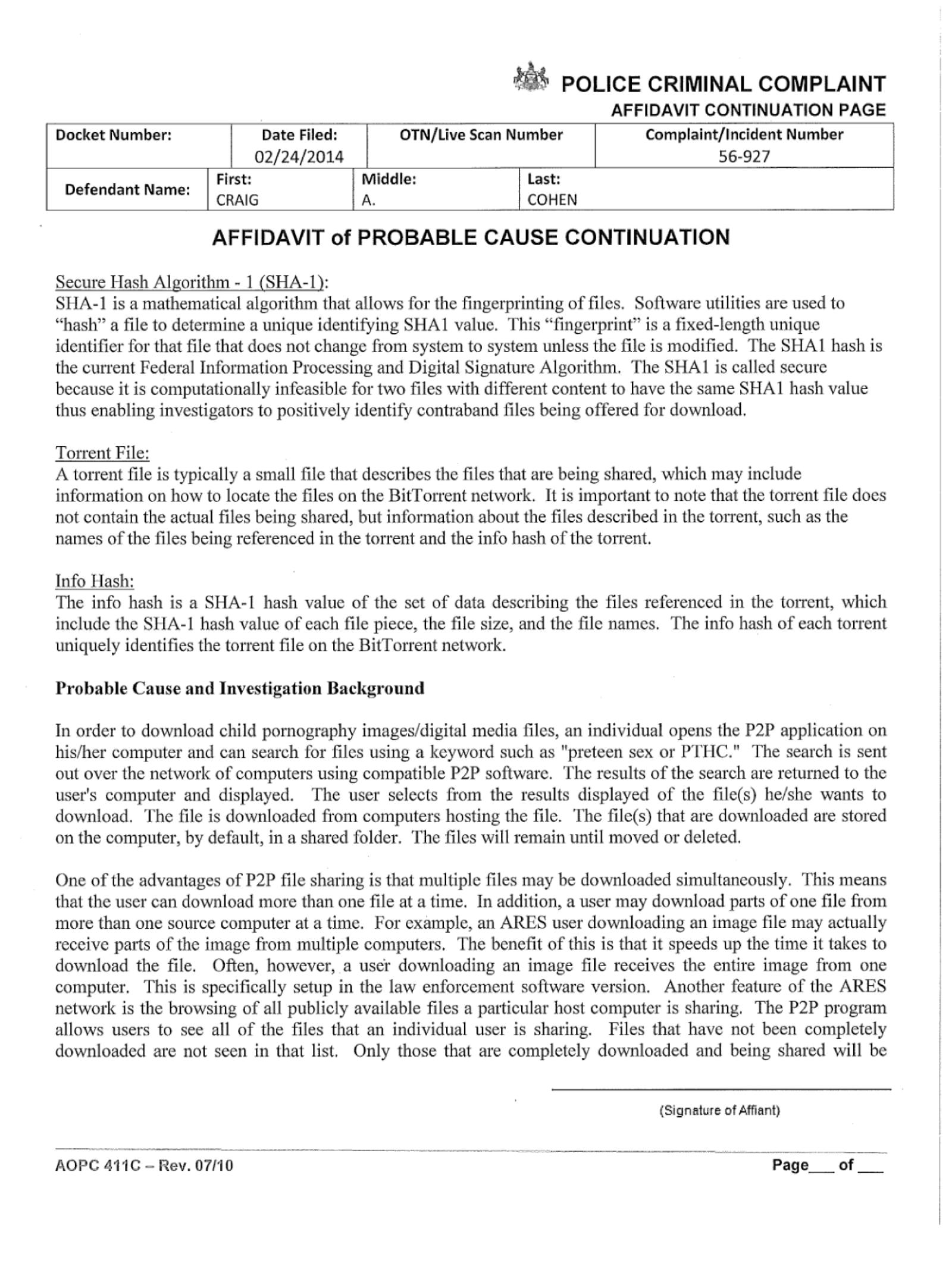 Copy of Cohen Craig Criminal Comnplaint06.png