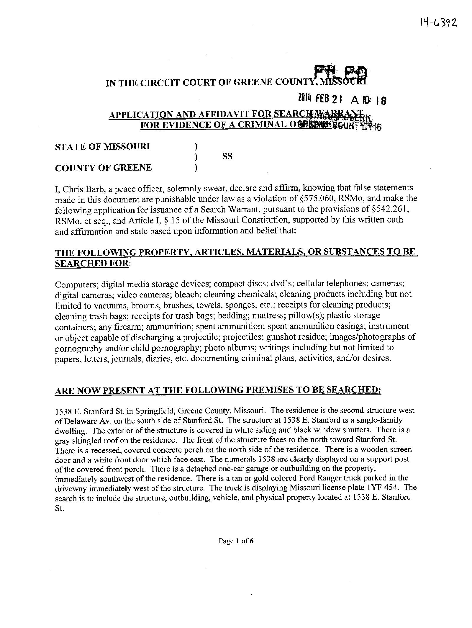 Missouri Warrant Search – Outstanding & Active Warrants in ...