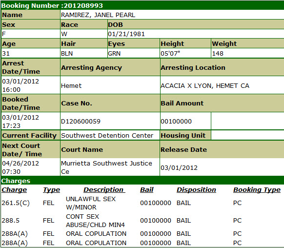 ramirez janel sheriff jail booking info.jpg