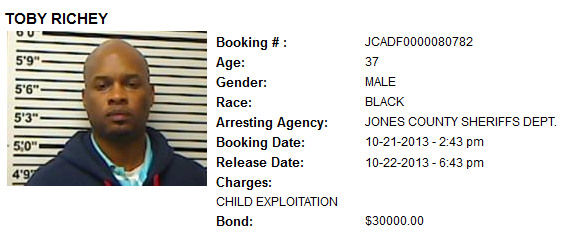Richey Toby booking info.png