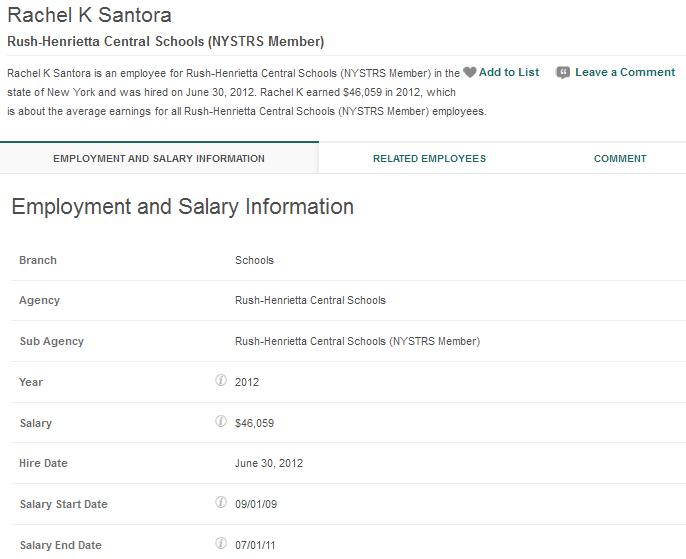 Santora Rachel Employment Salary Info.png