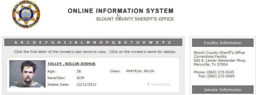 talley rollin joshua jail info vanshaver.jpg