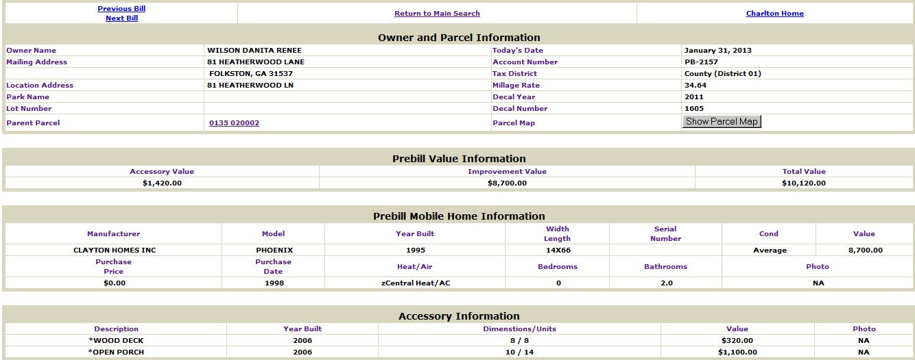 Wilson DaNita property info.png